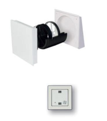 Abluftgerät CollectionAir mit Feuchtigkeitssteuerung von AiolosAir