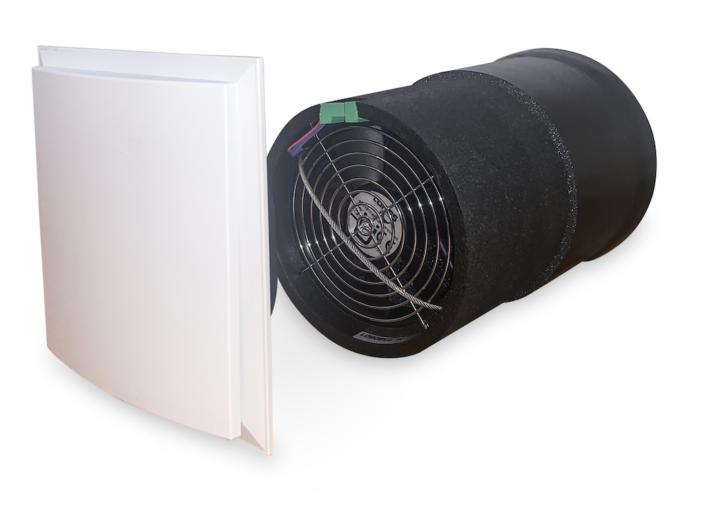 Lunos e2 60 dezentrales Lüftungsgerät zur kontrollierten Wohnraumlüftung