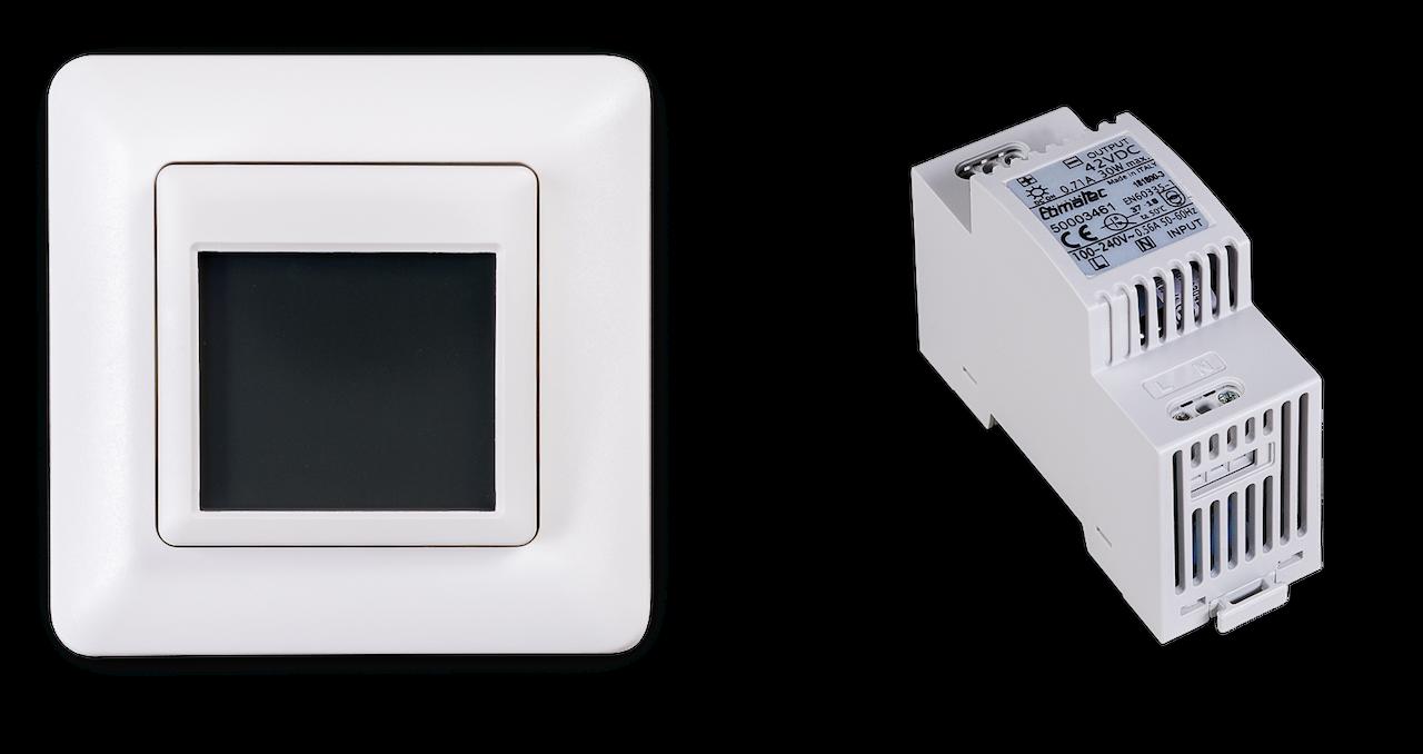 Pluggit Touch Steuerung für iconVent 170 mit Touch-Display für bis zu 6 Lüfter inkl. Hutschienennetzteil