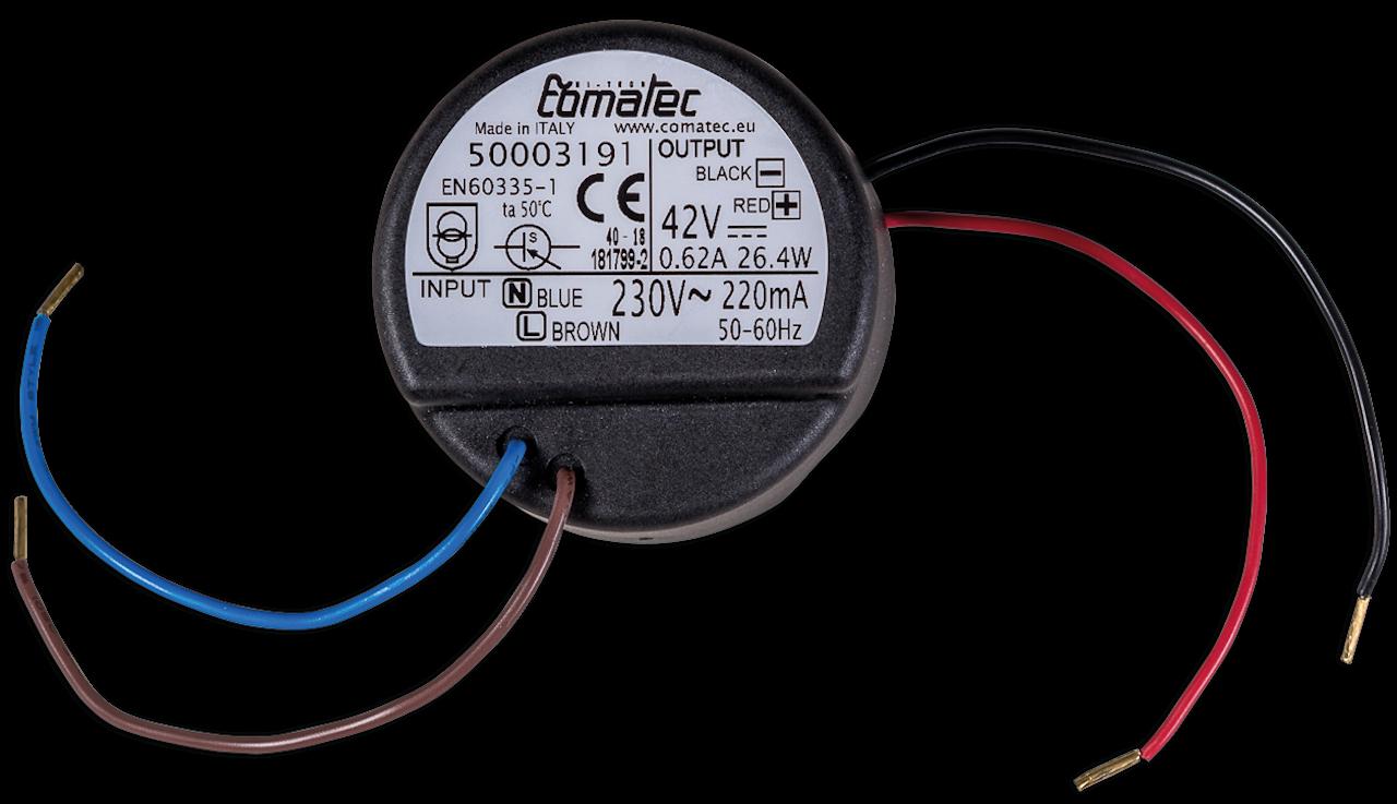 iconVent 170 – Unterputz-Netzteil für Steuerung 42 V