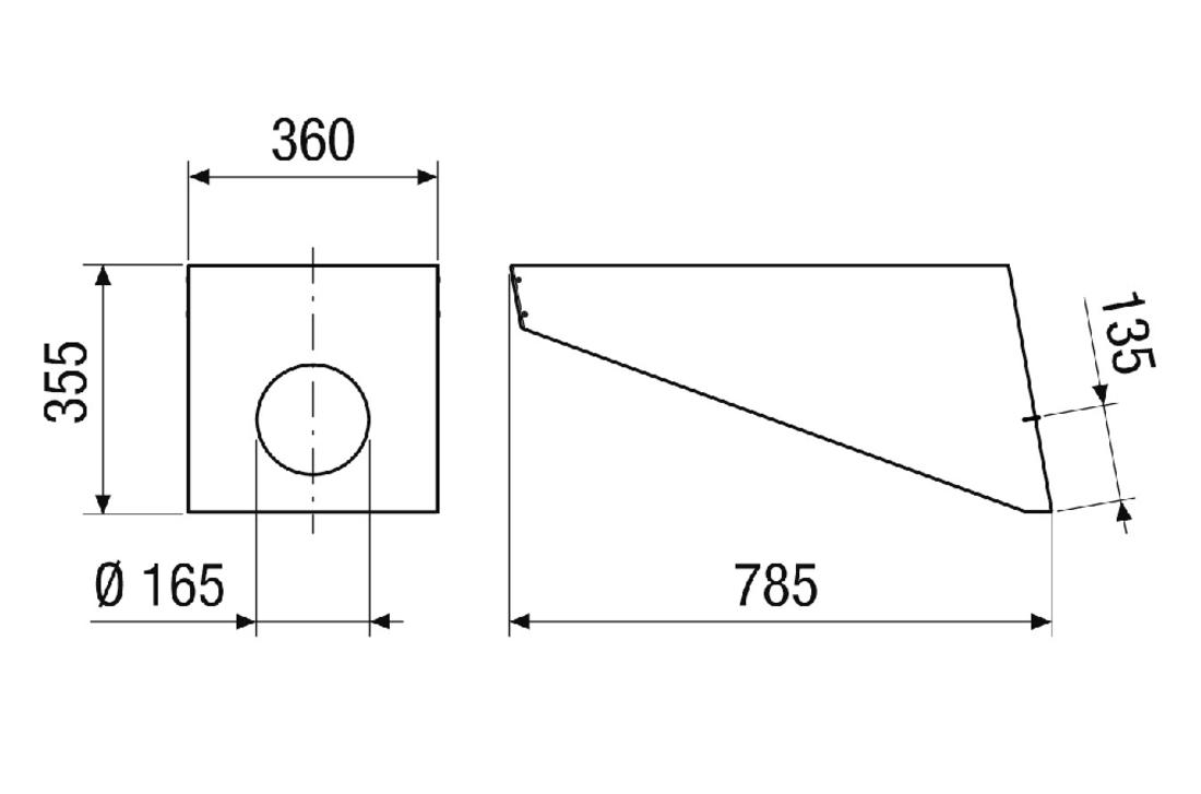 Dachhaube PP 45 DH 25-30 von Maico