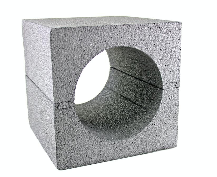 Rohbauträger 240 mm Wandeinbaugehäuse AiolosAir