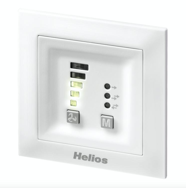 Helios KWL 45 STS-HS Steuerungsset mit Schaltnetzteil für Schaltschrank-Hutschiene