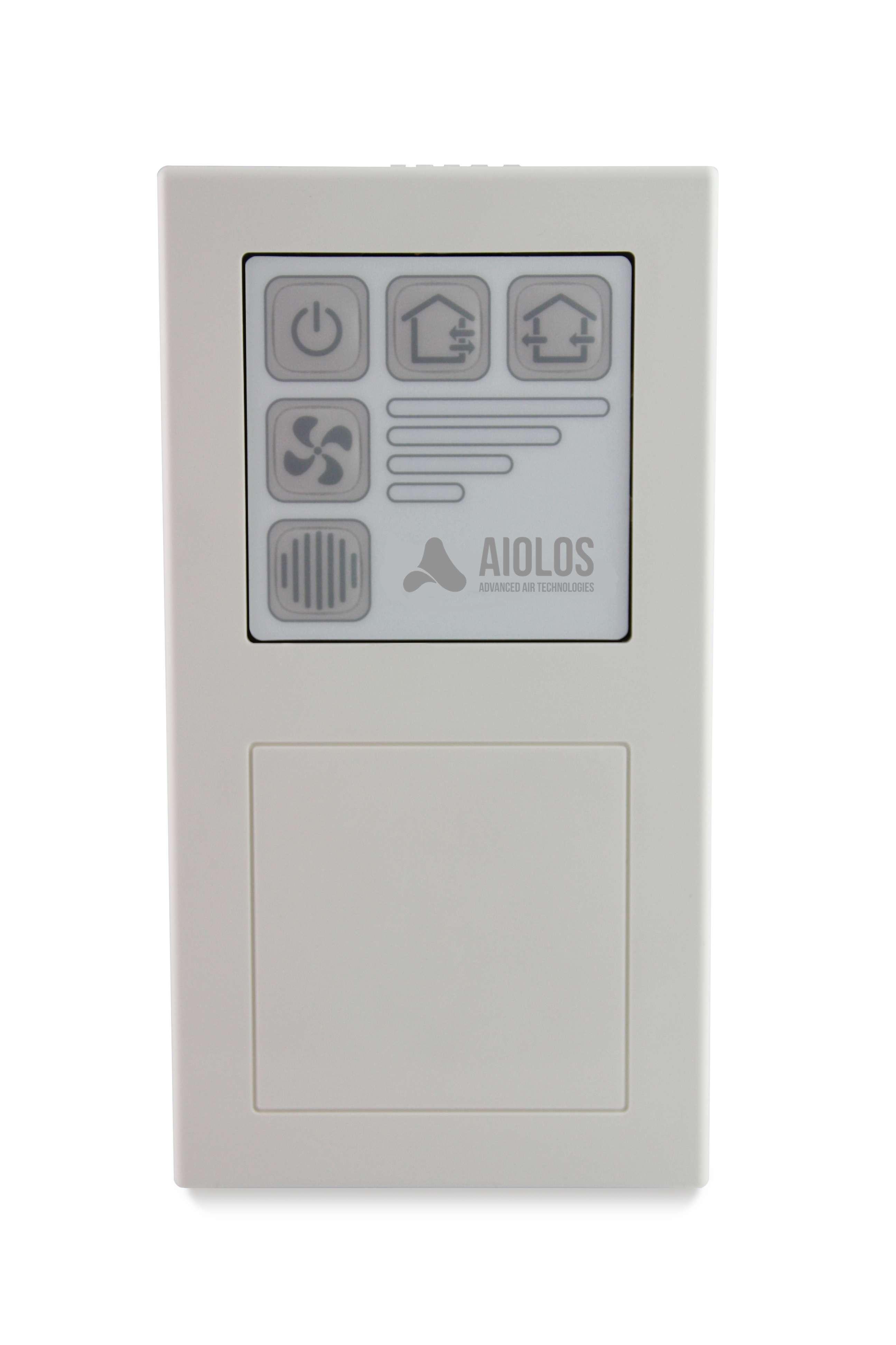 CentralControl Zentralregler für AiolosAir Lüftungsgeräte