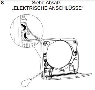 Südwind Ambientika advanced+ - Elektrischer Anschluss Hauptgerät