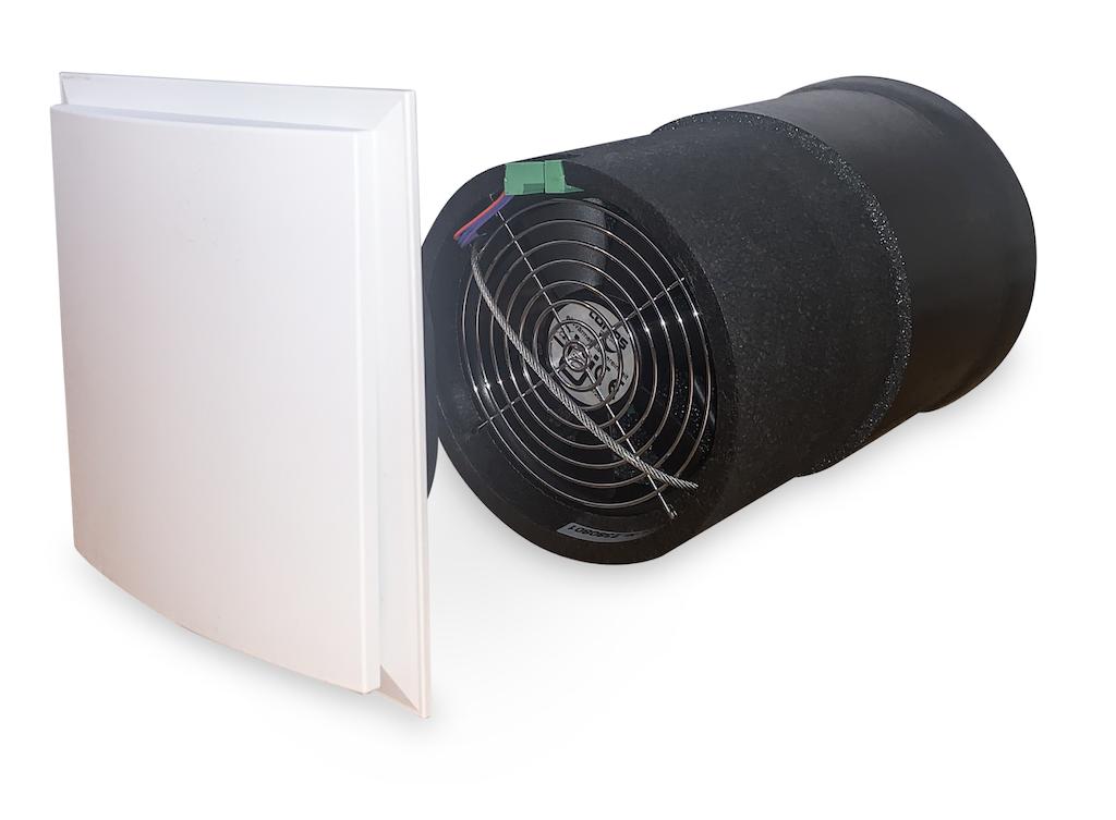Lunos e2 - Dezentrales Lüftungsgerät mit Wärmerückgewinnung zur kontrollierten Wohnraumlüftung
