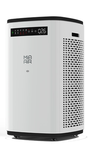 Luftreiniger mit Aktivkohle- und HEPA-Filter von MiaAir