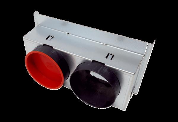 Blechadapter WS 75 A für Maico Powerbox