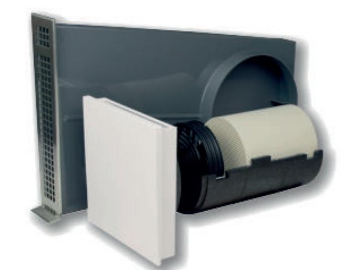 PleasantAir CWR von AiolosAir - dezentrale Lüftung mit Wärmerückgewinnung